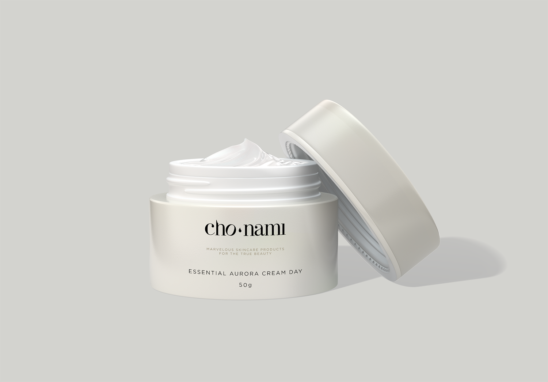 Cho Nami, Aurora Cream Day, kem dưỡng trắng da ban ngày, xolve branding, 3D cosmetic