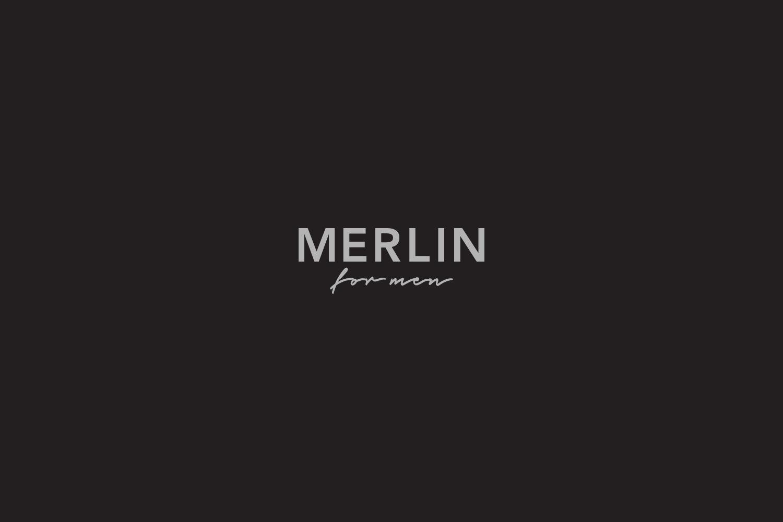 Merlin for men, logo design, packaging design, xolve branding, brand agency ho chi minh city, brand agency vietnam