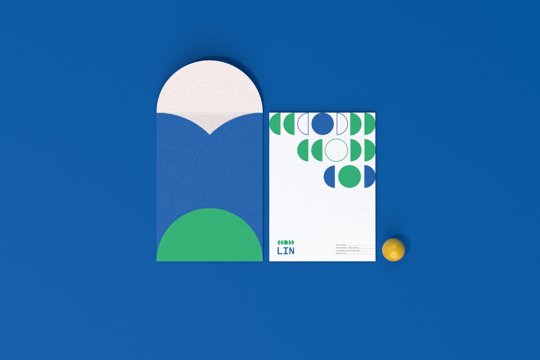LIN C4 envelope top view