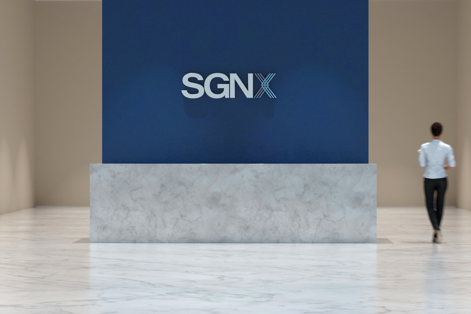 SGNX office entrance