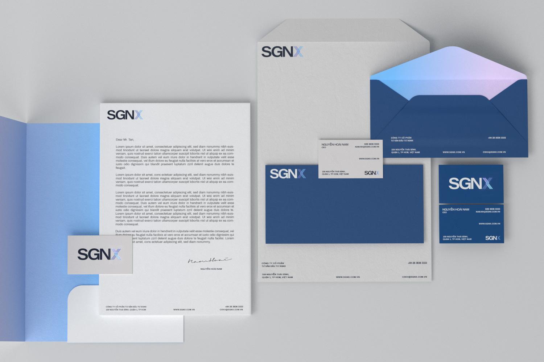 SGNX stationary set