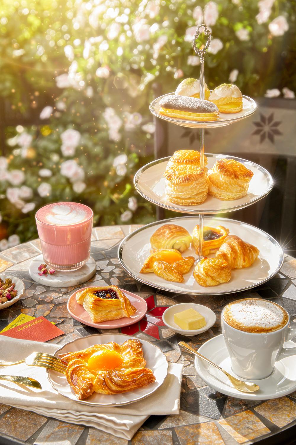 Ambrosia Afternoon Tea Set