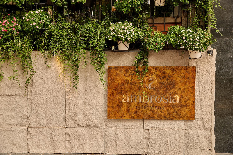 Ambrosia Signage