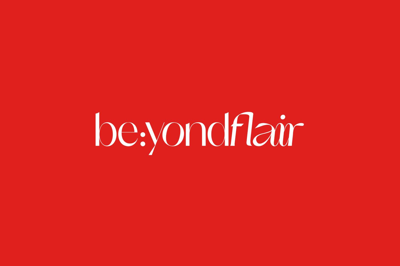 Beyondflair logo red