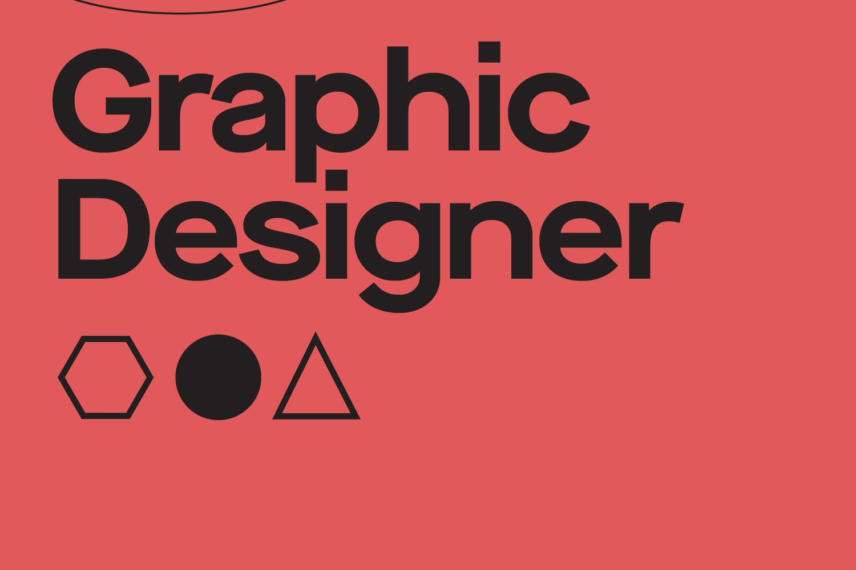 Graphic designer post