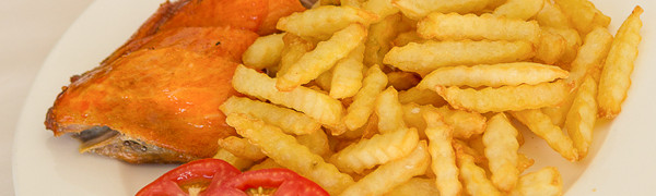 Chicken with Fries (1101) – Dish of the day! Saturday May 9, 2015