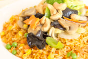 New Thriving Vegetable Fried Rice or Chowmein or Lowmein or Plain Rice (DEL-1121)