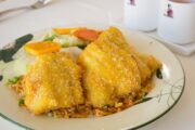 Deep Fried Fish Fried Rice or Chowmein (DEL-1119)