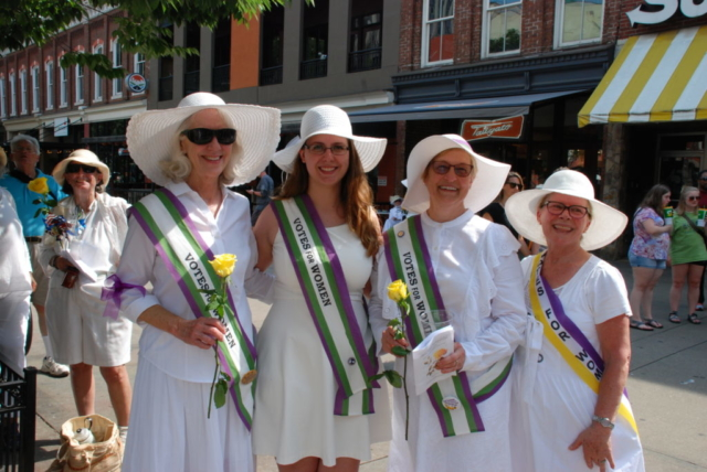 Suffrage Event Parade