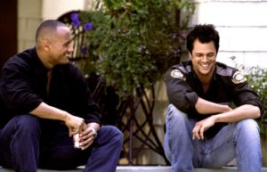 WALKING TALL, The Rock, Johnny Knoxville, 2004, (c) MGM