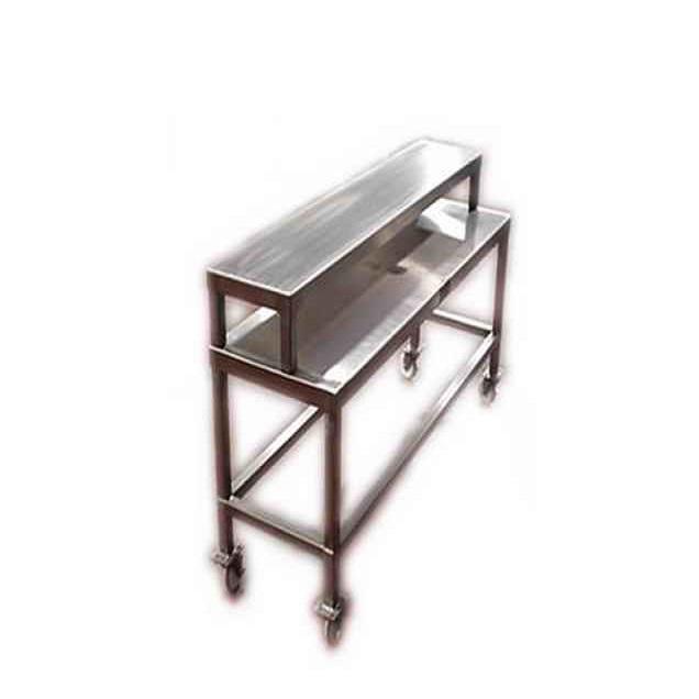 Portable-2 Shelf Table