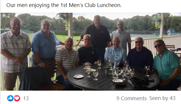 Vineyards at Brookefield Men's Club First Official Meeting