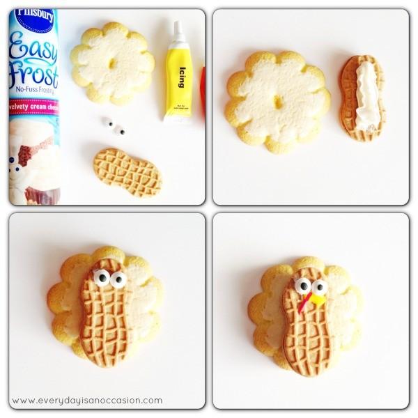 Turkey Cookie Tutorial