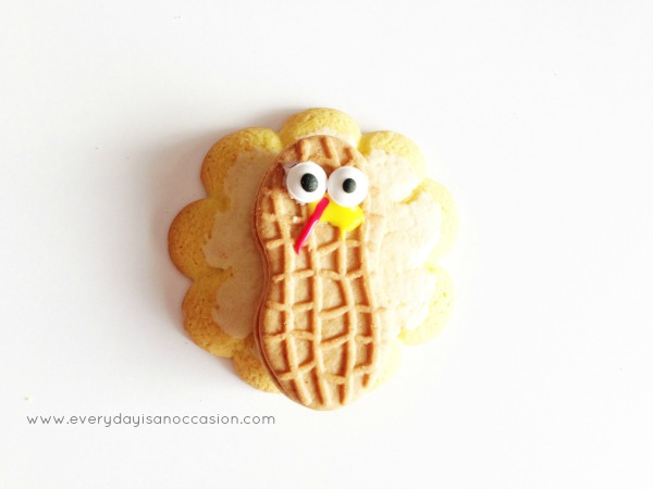 Turkey Cookie by Every day is an Occasion