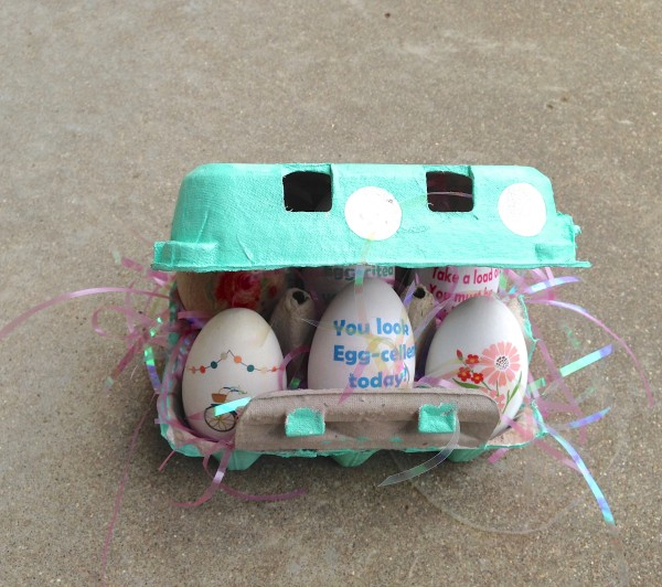 Tattoo Eggs and Carton