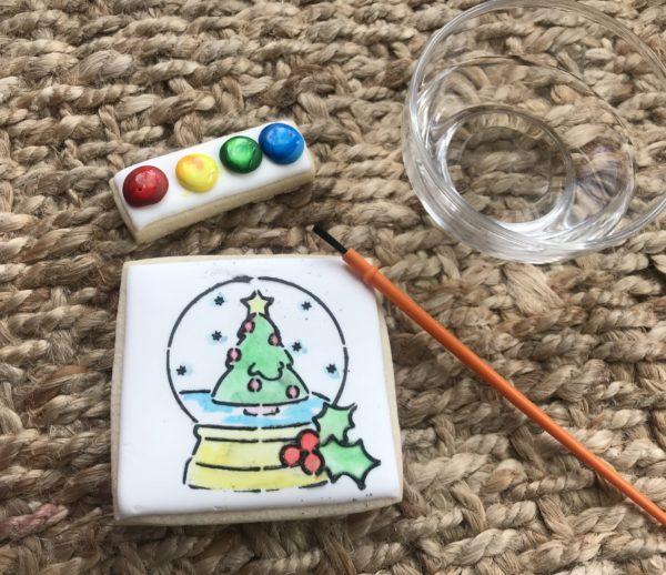 Watercolor cookie 5