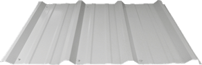 Graphic of R Panel (PBR) Metal Roofing