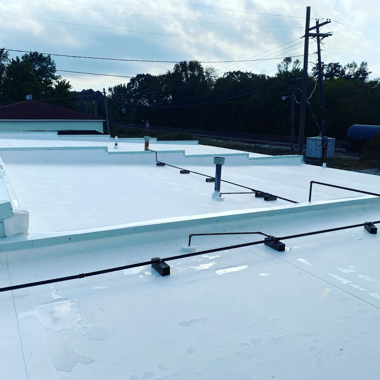 Photo of new TPO roof at City of Ardmore, Al