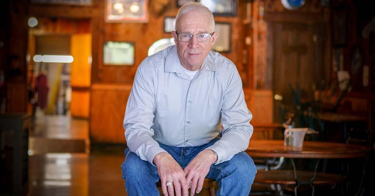 Randall M. Foster, an novelist, screenplay writer, and veteran.