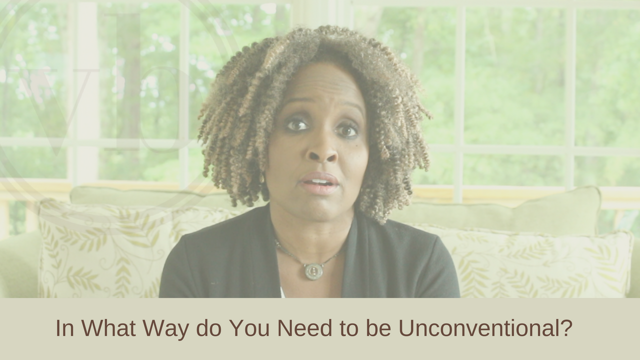 In What Way do You Need to be Unconventional?