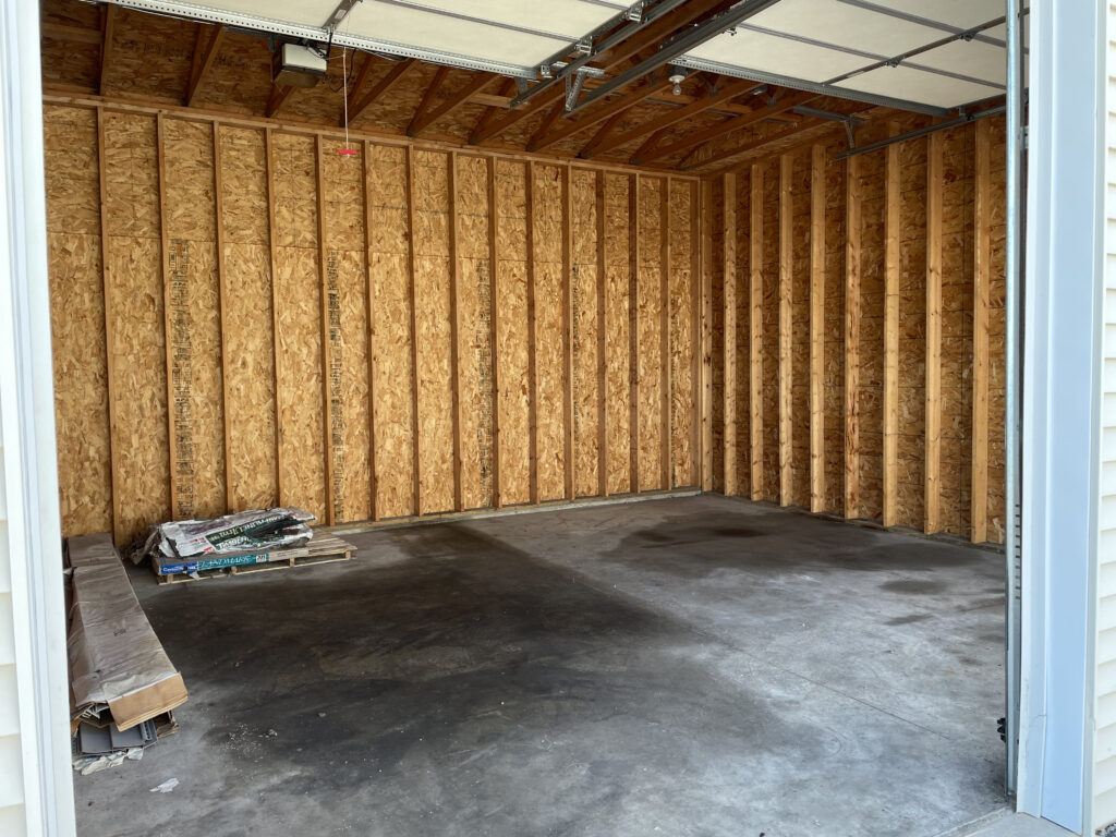 """20' x 20' Storage Unit with Two 8'8"""" wide x 11' high doors. With Electric Opener"""