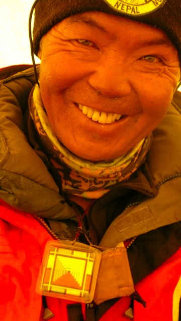One of the Travelers in the Everest Base Camp
