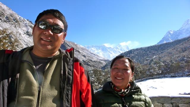 A Couple at Khumbu