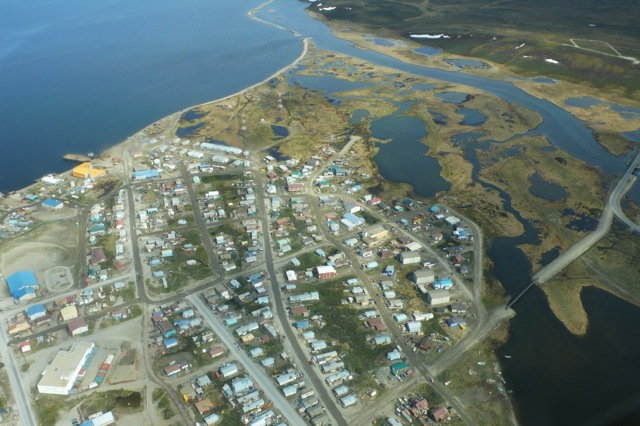 Aerial View of the Area