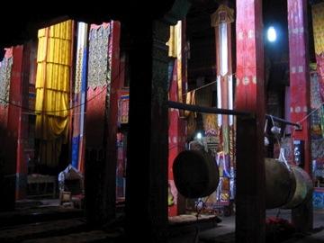 A Temple's Interior