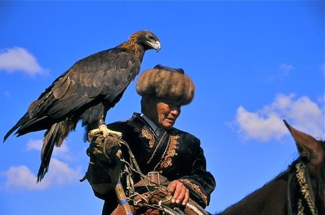 A Man and a Bird