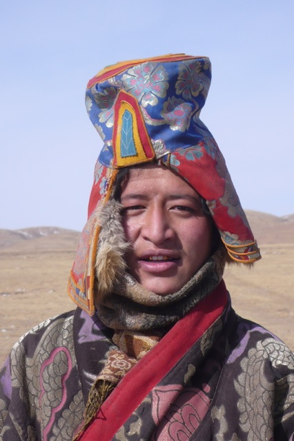 A Man From the Tibetan Plateau