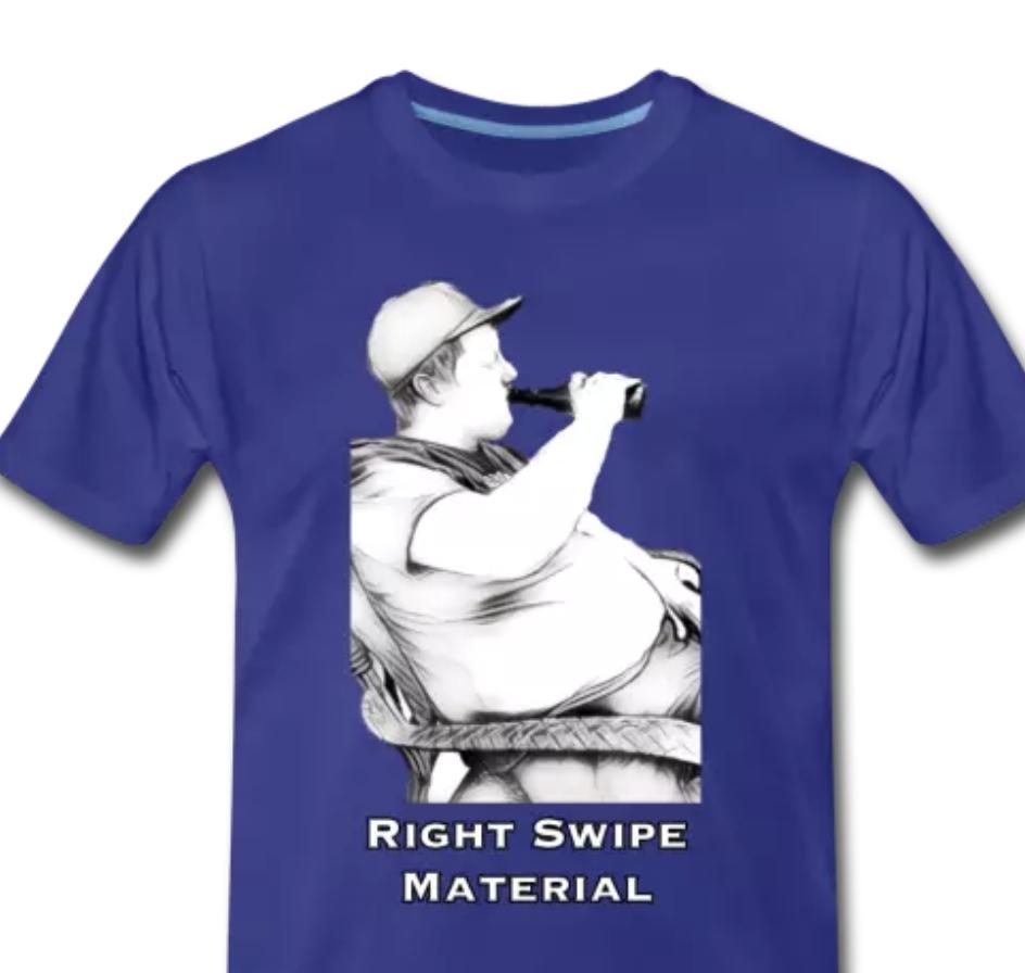 Right Swipe Material Image