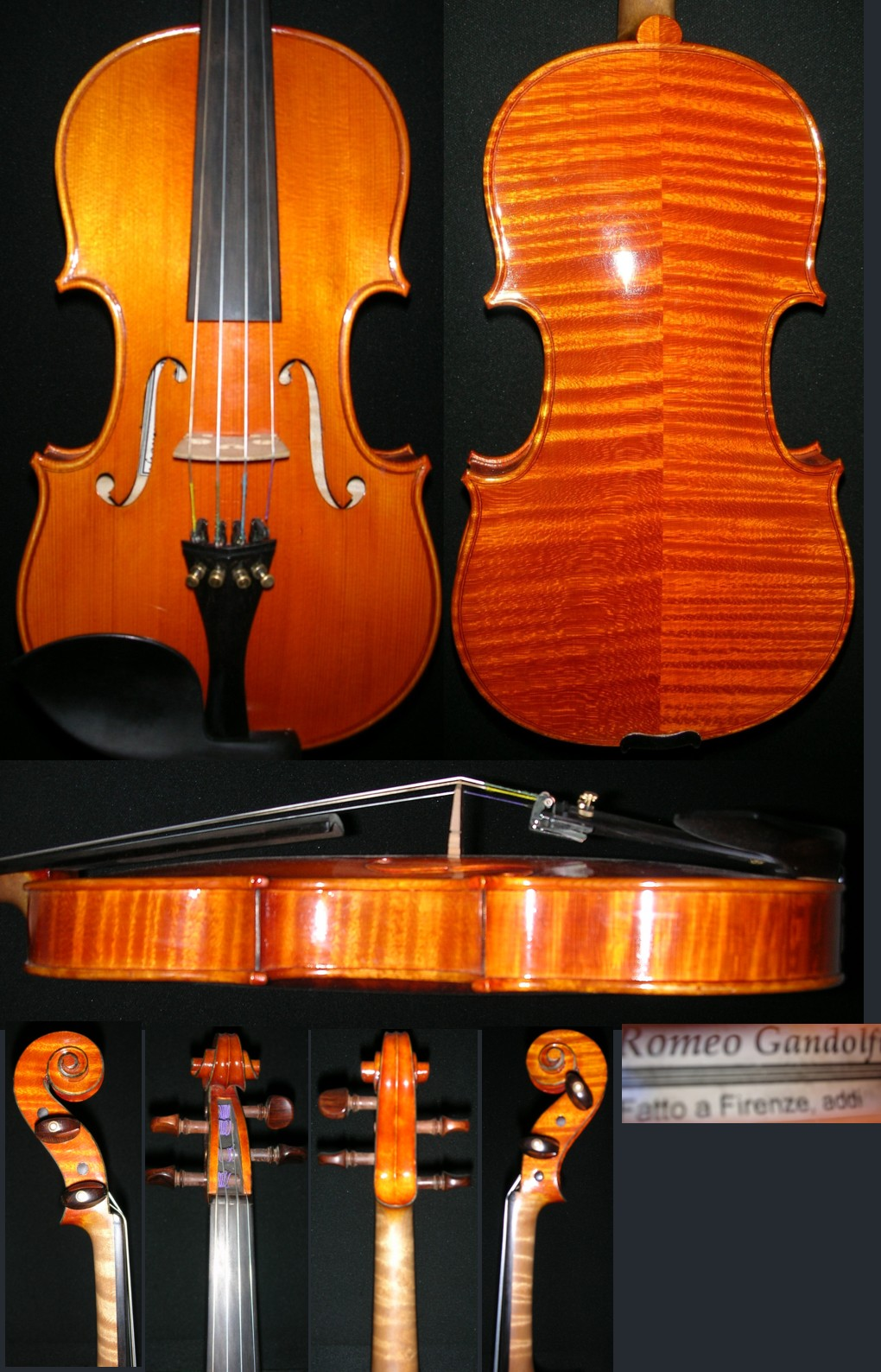 Romeo Gandolfi violin