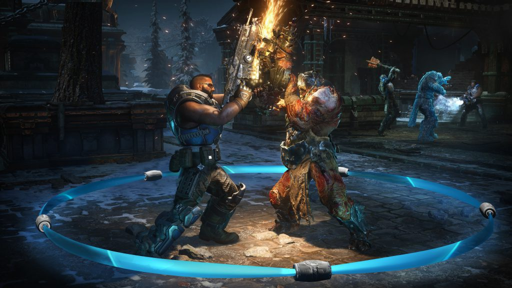 Gears 5, Gears, Gears of War, Microsoft, Xbox, Xbox One, Microsoft Exclusive, Xbox One X, Gaming, Games, E3 2019, Gigamax, Gigamax Games