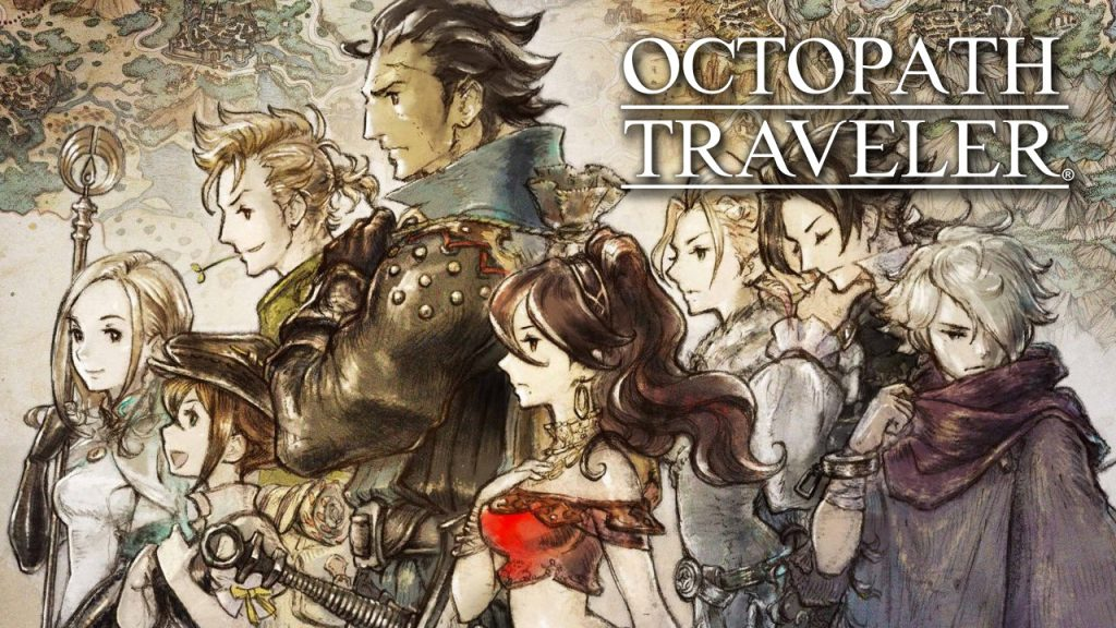 Octopath traveler, octopath traveler pc,  june video game releases, june game releases