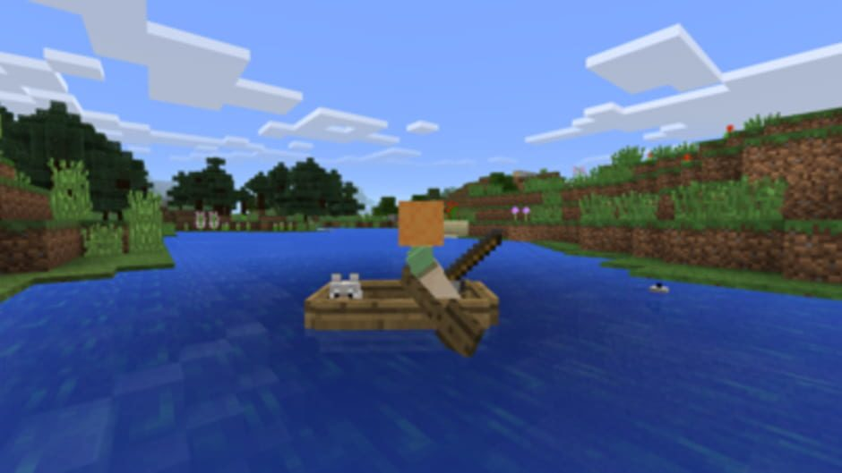 Minecraft, minecraft character on boat, minecraft characters, minecraft player record, minecraft news