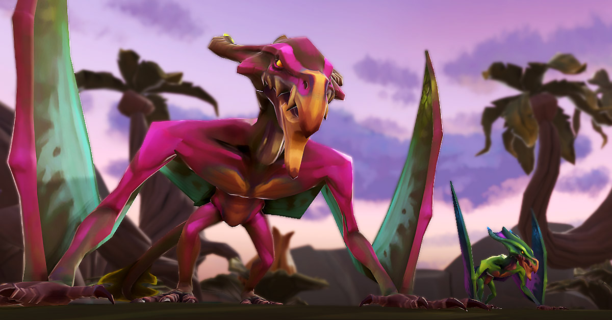 runescape, the ranch out of time dinosaurs, runescape update new monsters