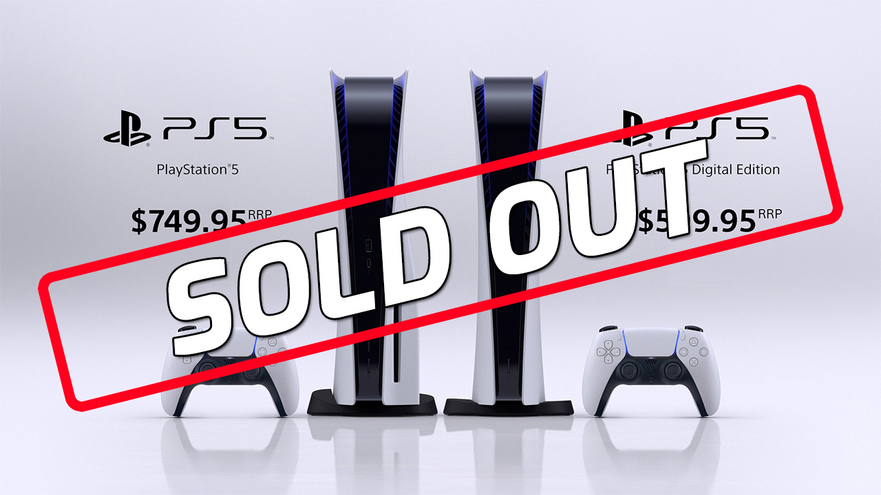 sold out ps5