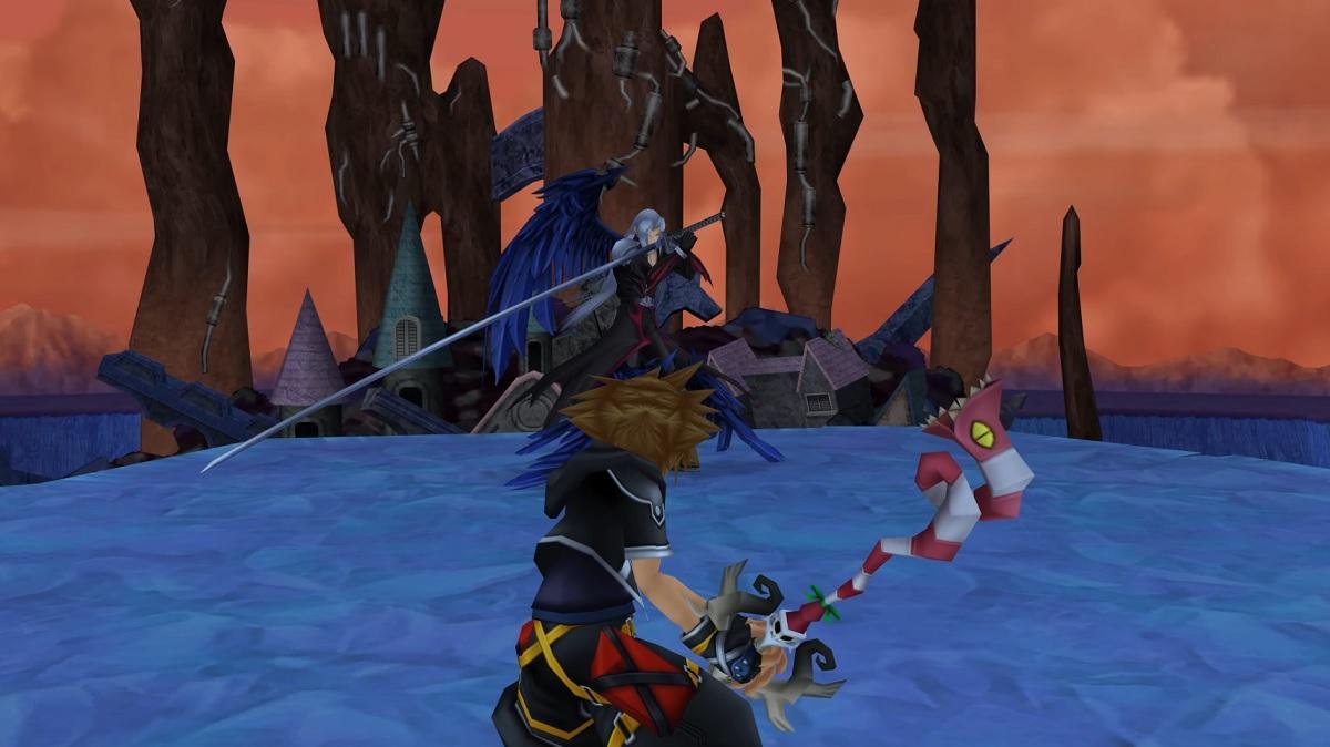 Sephiroth in Kingdom Hearts II