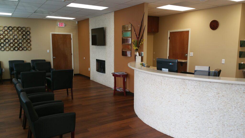 Medhealth Urgent care clinic interior