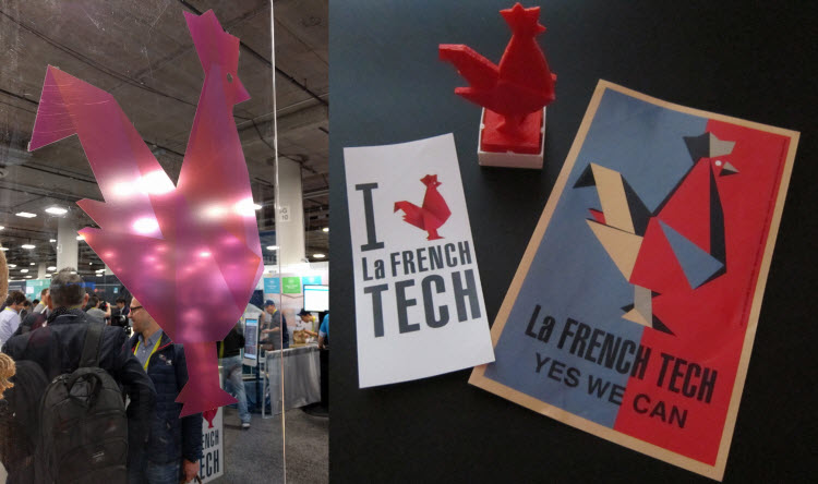 La French Tech at CES 2017 in Las Vegas, NV