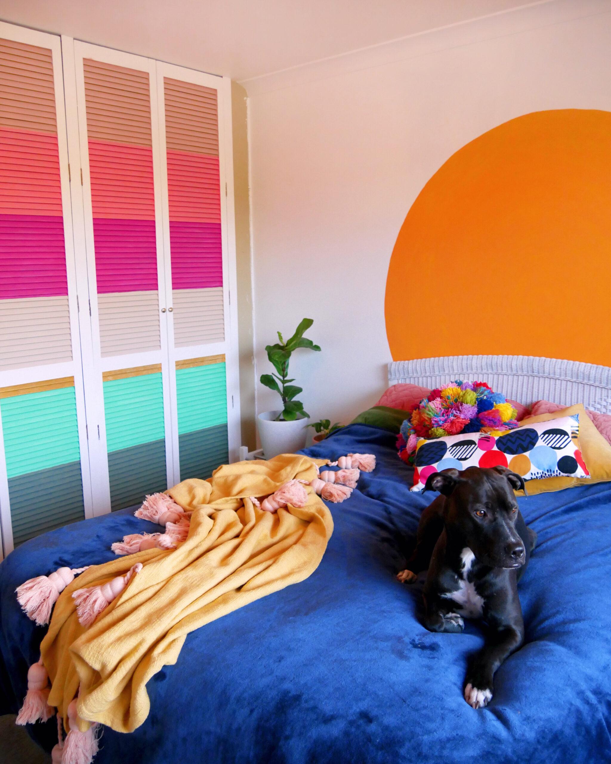 DIY Colourful Wardrobe: Home Renovation Diaries #5