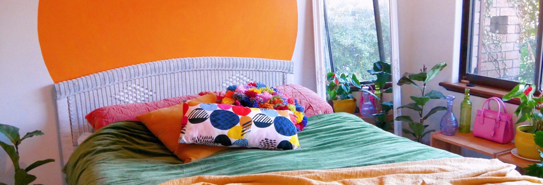 DIY Giant Painted Circle: Home Renovation Diaries #4