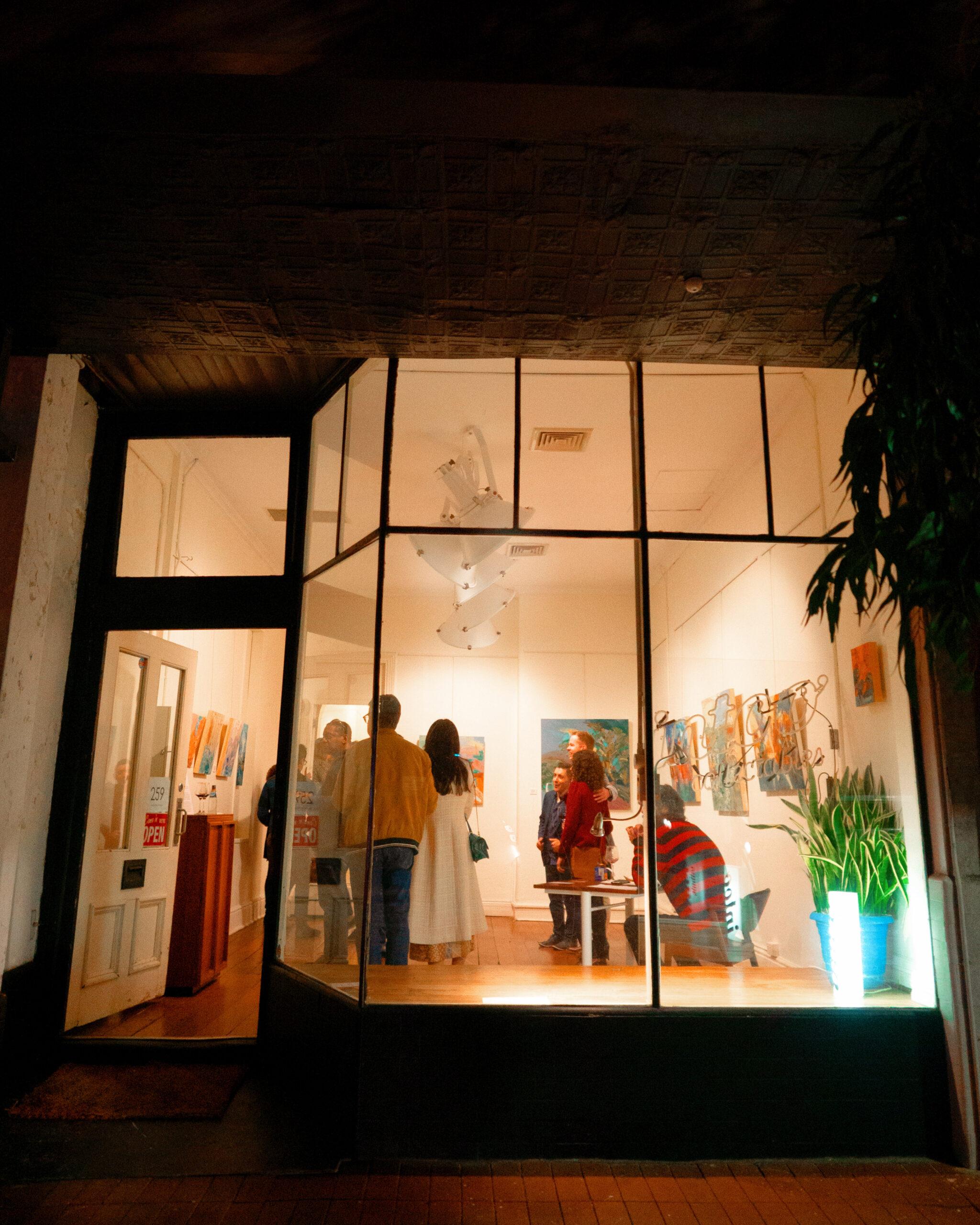 'VAST' Exhibition Opening Night