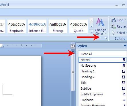 microsoft-word-style-menu-clear-all