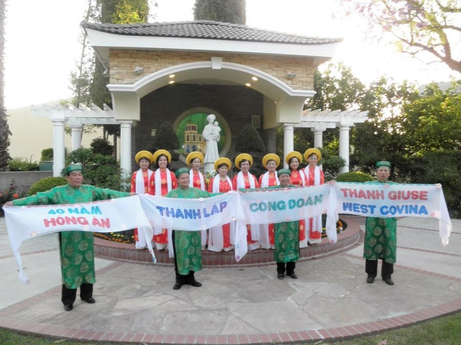 Photo Mừng 40 Năm Thành Lập Cộng Đoàn Thánh Giuse, West Covina