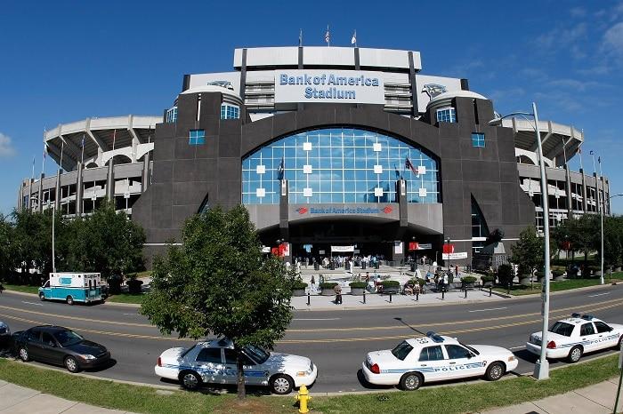 Bank of America Stadium, Limousine Service