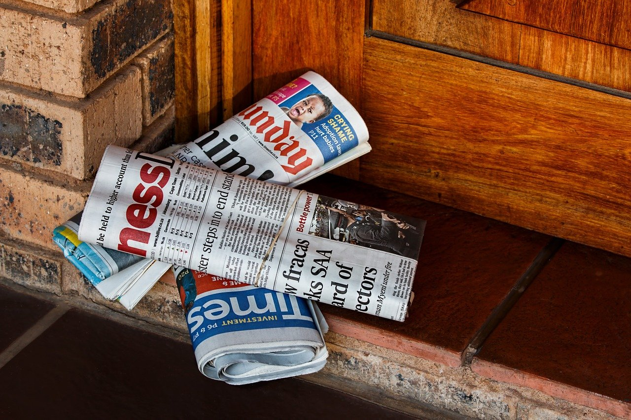 view of the daily newspaper press release