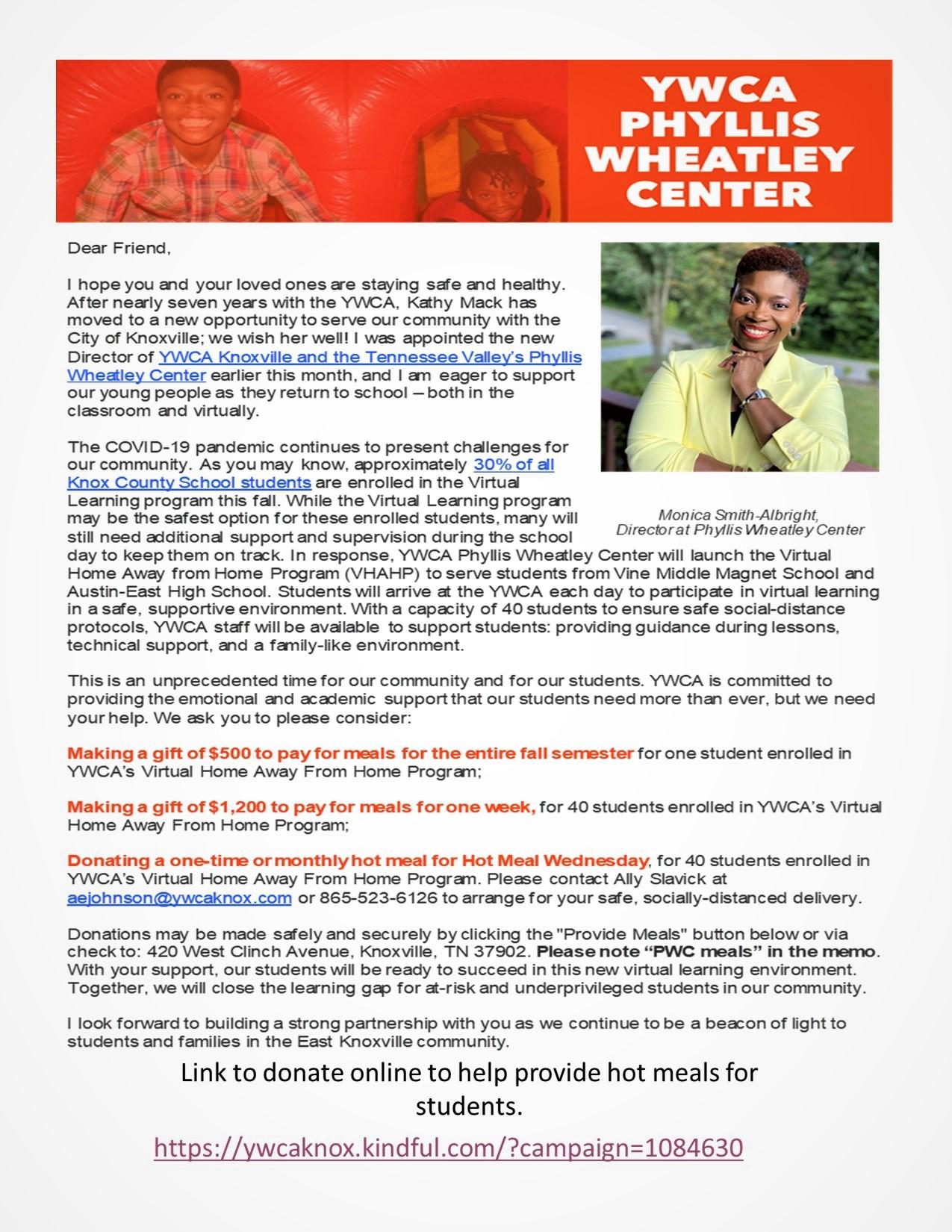 Phyllis Weatley Center