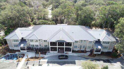 Sweetgrass Inn Overhead Aerial Shot